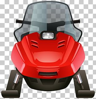Snowmobile Sticker PNG