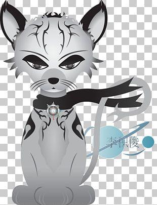 Whiskers Cat Cartoon Dog Illustration PNG