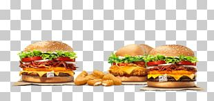 Slider Cheeseburger Fast Food Whopper Veggie Burger PNG