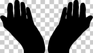 Praying Hands Prayer Silhouette PNG