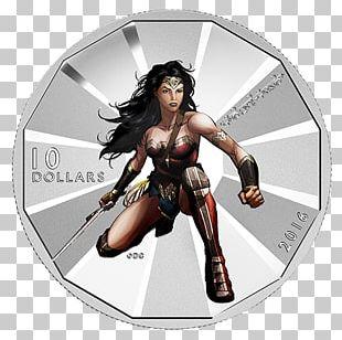 Wonder Woman Batman Superman Aquaman Coin PNG