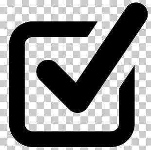 Check Mark Checkbox Computer Icons Symbol PNG