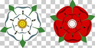 White Rose Of York Wars Of The Roses Yorkshire Day Red Rose Of Lancaster PNG