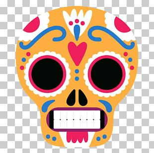 Mexico City Skull PNG