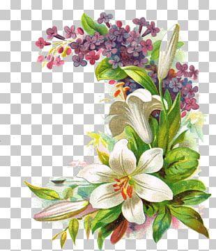 Paper Cut Flowers Floral Design Vintage Clothing PNG