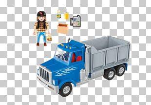 Playmobil Dump Truck Toy Logging Truck PNG
