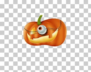 Halloween Caramel Apple Pumpkin PNG