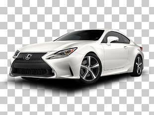 2018 Lexus RC 350 Car Lexus IS Luxury Vehicle PNG