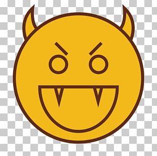 Smiley Emoticon Evil Shapes PNG
