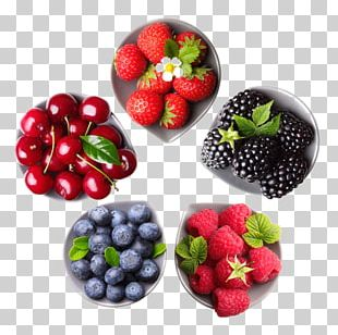Juice Strawberry Blueberry PNG