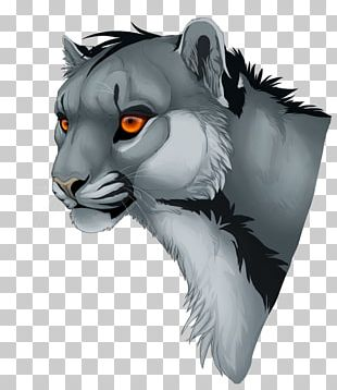 Whiskers Tiger Lion Cat Art PNG