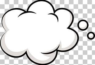 Cloud Bubble Promotion PNG