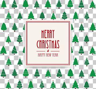 Christmas Tree Christmas Card Can Stock Photo PNG
