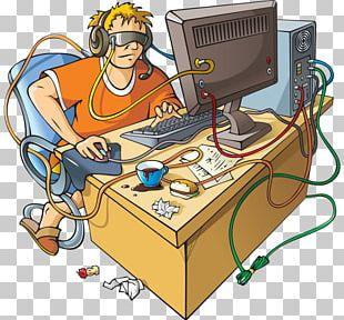 Computer Addiction Internet Addiction Disorder Video Game Addiction PNG