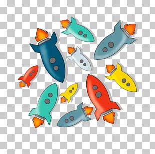 Cartoon Rocket Comics Illustration PNG