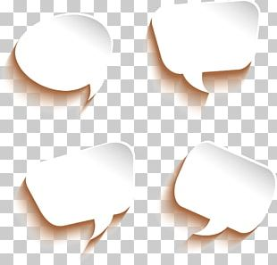 Paper Dialog Box Bubble Dialogue PNG
