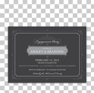 Wedding Invitation Paper Engagement Party PNG
