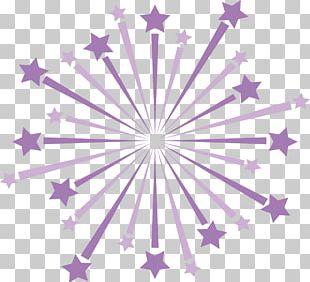 Purple Pentagram Five-pointed Star PNG