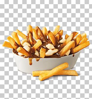 Whopper Poutine Hamburger French Fries Gravy PNG