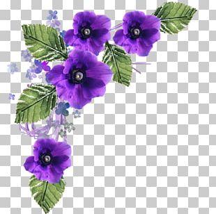 Floral Design Purple Flower PNG