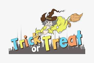 Halloween Trick Or Treat Not PNG