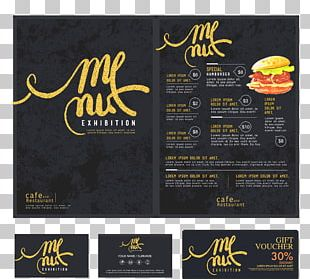 Menu Cafe Restaurant Fast Food PNG
