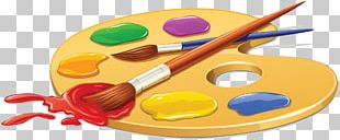 Paintbrush Palette Drawing Watercolor Painting PNG