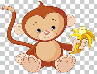 Monkey Cuteness Drawing Stock Photography PNG