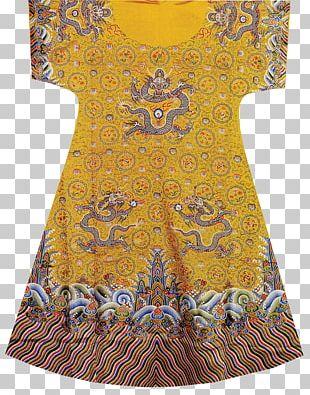 Qing Dynasty Emperor Of China Dragon Robe Chinese Dragon Gwanbok PNG