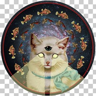 Cat Art Painting PNG