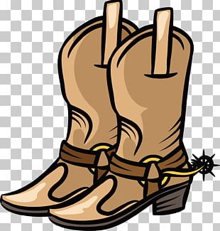 Cowboy Boot Shoe PNG