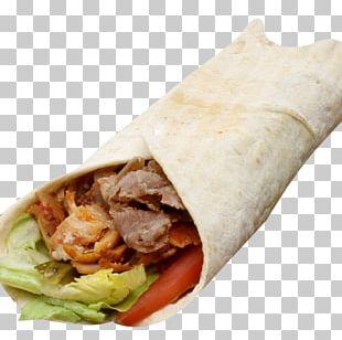 Shawarma Wrap Doner Kebab Lavash PNG