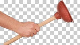 Toilet Plunger In Hand PNG