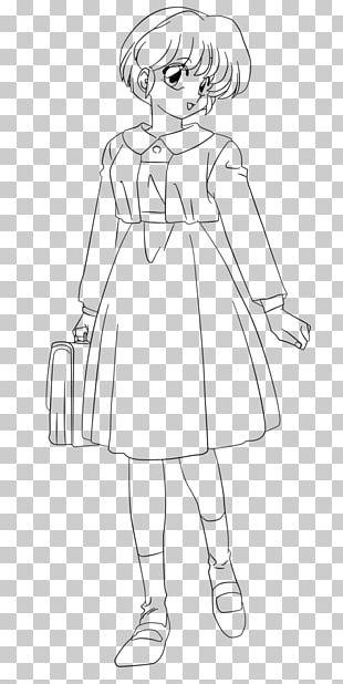 Line Art Akane Tendo Ranma ½ Sketch PNG