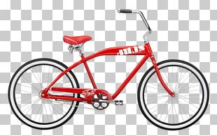 Cruiser Bicycle Felt Bicycles Electric Bicycle PNG