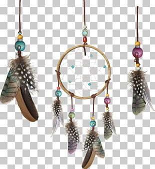 Dreamcatcher Feather Icon PNG