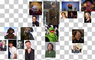 Kermit The Frog Collage Photomontage PNG