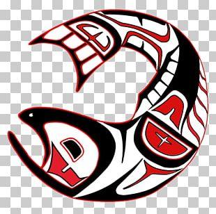 Pacific Northwest Haida People Chinook Salmon Tlingit PNG