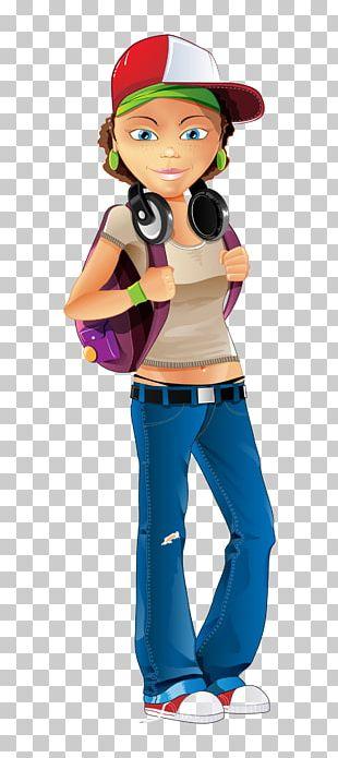 Girl Female Cartoon PNG