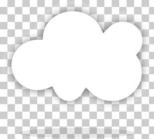 Cloud Computing White PNG