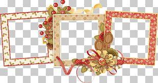 Frames Christmas Day Photography Decoupage PNG