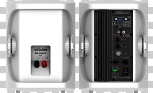Audio Power Loudspeaker Enclosure Powered Speakers PNG