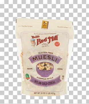 Muesli Breakfast Cereal Bob's Red Mill Gluten-free Diet PNG
