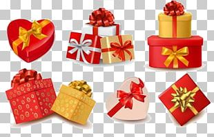 Paper Valentines Day Gift Decorative Box PNG