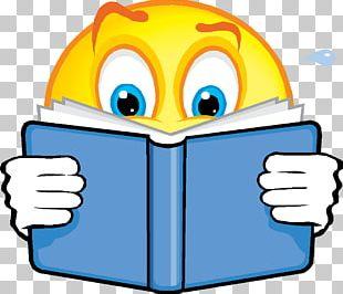 Smiley Reading Emoticon Emoji PNG