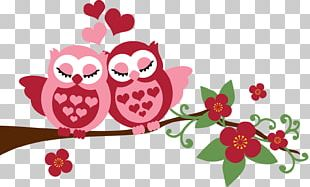 Little Owl Paper Love Drawing PNG