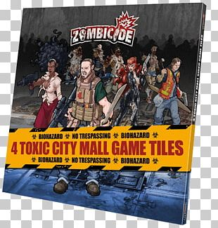 Guillotine Games Zombicide: Toxic City Mall Expansion Board Game Set PNG