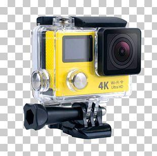 Action Camera 1080p Video Cameras 4K Resolution PNG
