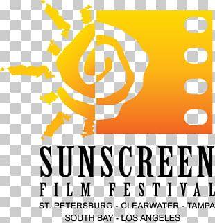 Hermosa Beach Logo Sunscreen Film Festival Brand Font PNG