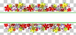 Flower Floral Design Floristry Banner PNG